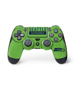 Seattle Seahawks Green Performance Series PS4 Pro/Slim Controller Skin