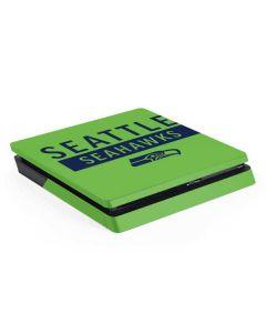 Seattle Seahawks Green Performance Series PS4 Slim Skin