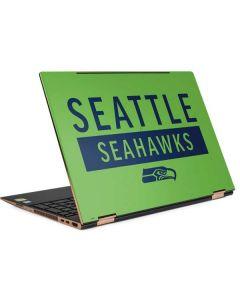 Seattle Seahawks Green Performance Series HP Spectre Skin