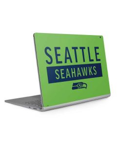 Seattle Seahawks Green Performance Series Surface Book 2 13.5in Skin