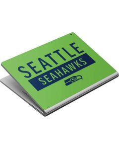Seattle Seahawks Green Performance Series Surface Book Skin