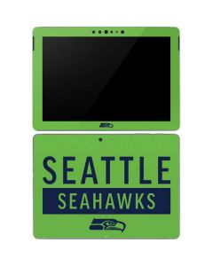 Seattle Seahawks Green Performance Series Surface Go Skin