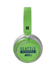 Seattle Seahawks Green Performance Series Surface Headphones Skin