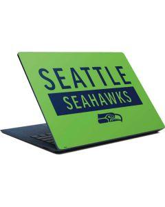 Seattle Seahawks Green Performance Series Surface Laptop Skin