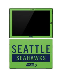 Seattle Seahawks Green Performance Series Surface Pro 3 Skin