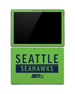 Seattle Seahawks Green Performance Series Surface Pro 4 Skin
