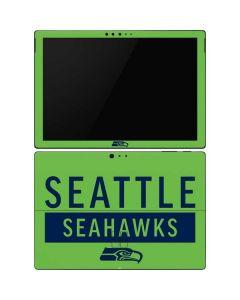 Seattle Seahawks Green Performance Series Surface Pro 6 Skin