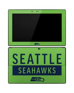 Seattle Seahawks Green Performance Series Surface Pro Tablet Skin