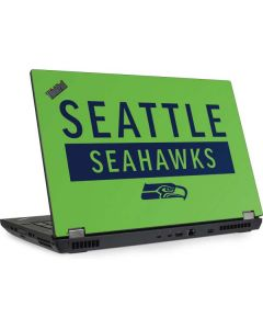 Seattle Seahawks Green Performance Series Lenovo ThinkPad Skin
