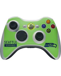 Seattle Seahawks Green Performance Series Xbox 360 Wireless Controller Skin