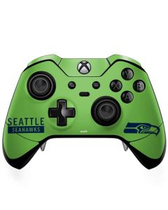 Seattle Seahawks Green Performance Series Xbox One Elite Controller Skin