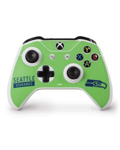 Seattle Seahawks Green Performance Series Xbox One S Controller Skin