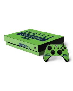 Seattle Seahawks Green Performance Series Xbox One X Bundle Skin