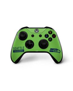 Seattle Seahawks Green Performance Series Xbox One X Controller Skin