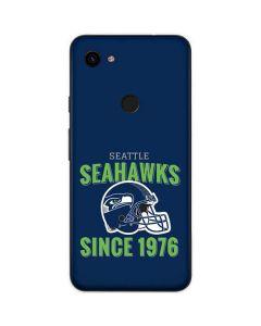 Seattle Seahawks Helmet Google Pixel 3a Skin