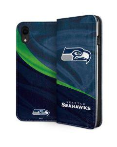 Seattle Seahawks iPhone XR Folio Case