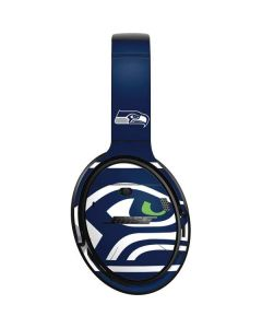 Seattle Seahawks Large Logo Bose QuietComfort 35 II Headphones Skin