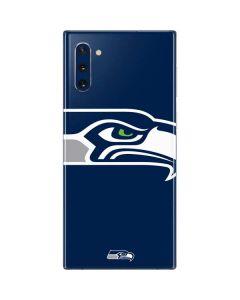 Seattle Seahawks Large Logo Galaxy Note 10 Skin