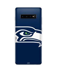 Seattle Seahawks Large Logo Galaxy S10 Plus Skin