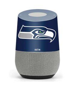 Seattle Seahawks Large Logo Google Home Skin