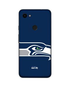 Seattle Seahawks Large Logo Google Pixel 3a Skin