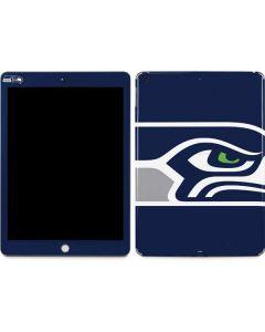 Seattle Seahawks Large Logo Apple iPad Skin