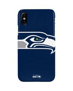 Seattle Seahawks Large Logo iPhone XS Max Lite Case