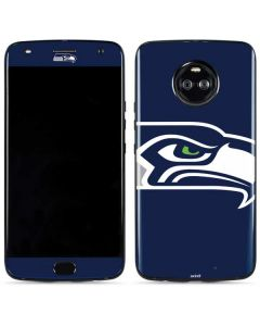 Seattle Seahawks Large Logo Moto X4 Skin