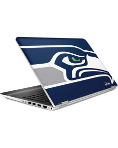 Seattle Seahawks Large Logo HP Pavilion Skin