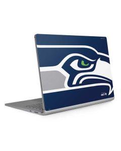 Seattle Seahawks Large Logo Surface Book 2 13.5in Skin