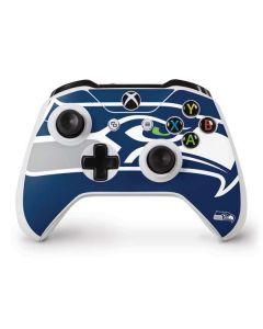 Seattle Seahawks Large Logo Xbox One S Controller Skin
