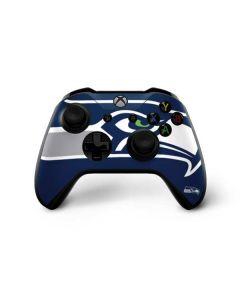 Seattle Seahawks Large Logo Xbox One X Controller Skin