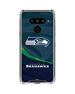 Seattle Seahawks LG V50 ThinQ Clear Case