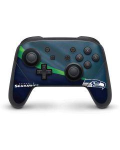 Seattle Seahawks Nintendo Switch Pro Controller Skin