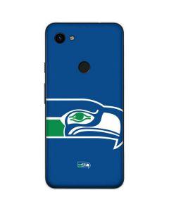 Seattle Seahawks Retro Logo Google Pixel 3a Skin