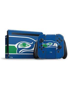 Seattle Seahawks Retro Logo Nintendo Switch Bundle Skin