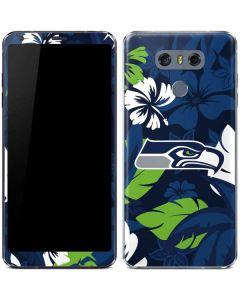 Seattle Seahawks Tropical Print LG G6 Skin