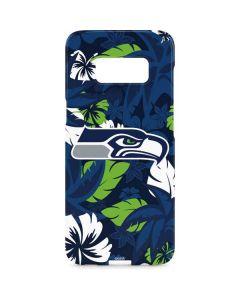 Seattle Seahawks Tropical Print Galaxy S8 Plus Lite Case