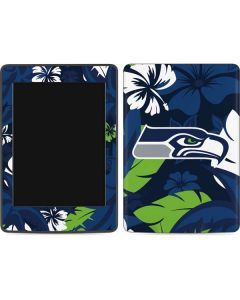 Seattle Seahawks Tropical Print Amazon Kindle Skin