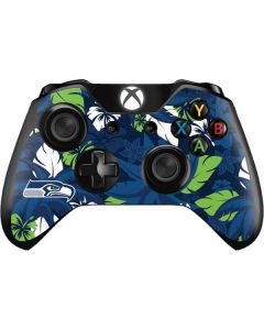 Seattle Seahawks Tropical Print Xbox One Controller Skin