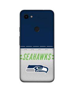 Seattle Seahawks White Striped Google Pixel 3a Skin