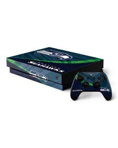Seattle Seahawks Xbox One X Bundle Skin