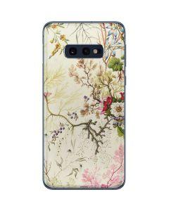 Seaweed on Silk Paper Galaxy S10e Skin