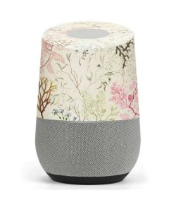 Seaweed on Silk Paper Google Home Skin