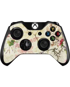 Seaweed on Silk Paper Xbox One Controller Skin