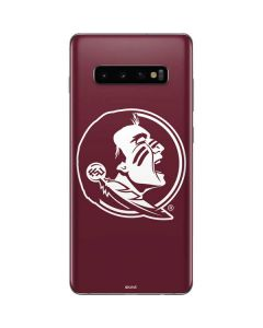 Seminoles Logo Galaxy S10 Plus Skin