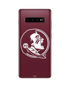 Seminoles Logo Galaxy S10 Plus Skin