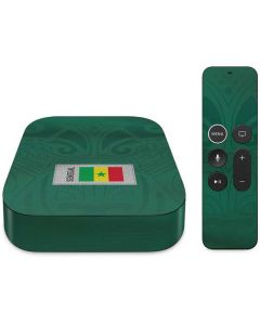 Senegal Soccer Flag Apple TV Skin