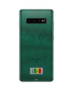 Senegal Soccer Flag Galaxy S10 Plus Skin