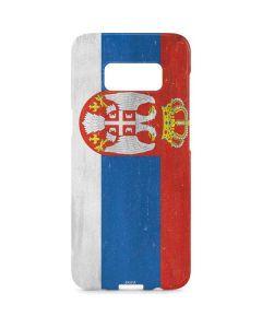 Serbia Flag Distressed Galaxy S8 Plus Lite Case